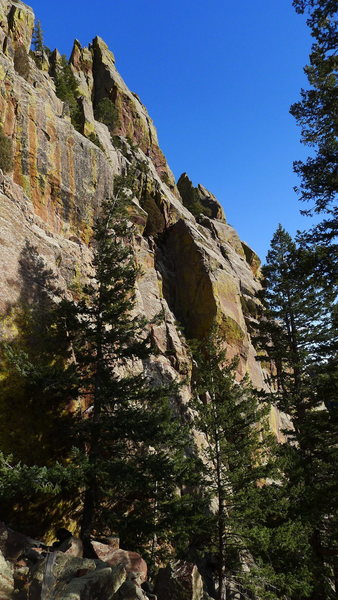Rock Climbing Photo: West Ridge Part C (vicinity of Sooberb).