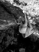 Rock Climbing Photo: Hookin