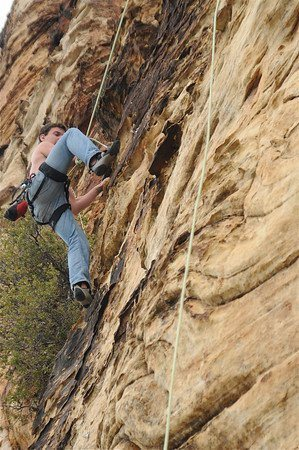 Rock Climbing Photo: Harsh reality 2010?