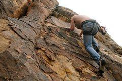 Rock Climbing Photo: Harsh Reality