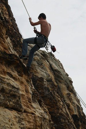 One of the first outdoor climbs I've done 2010