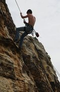 Rock Climbing Photo: One of the first outdoor climbs I've done 2010