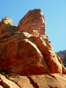 Rock Climbing Photo: Famous Tower on right, Rich Tower higher on left. ...