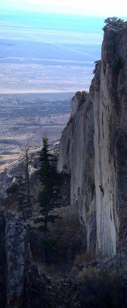 Rock Climbing Photo: fins