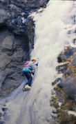 Rock Climbing Photo: an incredible day in Deer Creek on the   FA of SEM...
