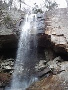 Rock Climbing Photo: The Falls 12/23/12!