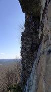 Rock Climbing Photo: P2, Drunkards Delight