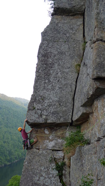 Rock Climbing Photo: P2, The El