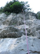 Rock Climbing Photo: Going for another round on top rope.