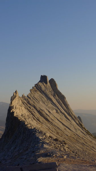 Matthes Crest from the North. Oct 2012