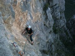 3rd or 11d pitch. great technical climbing