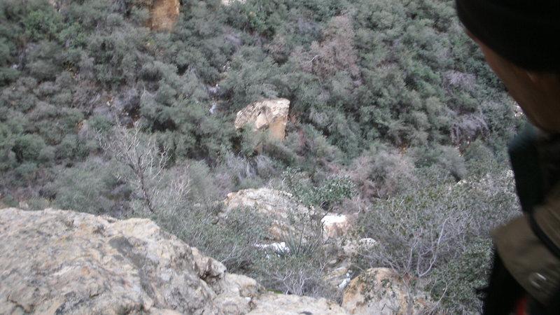 small ledge
