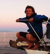 Rock Climbing Photo: Sailing into Santa Barbara, December 2012