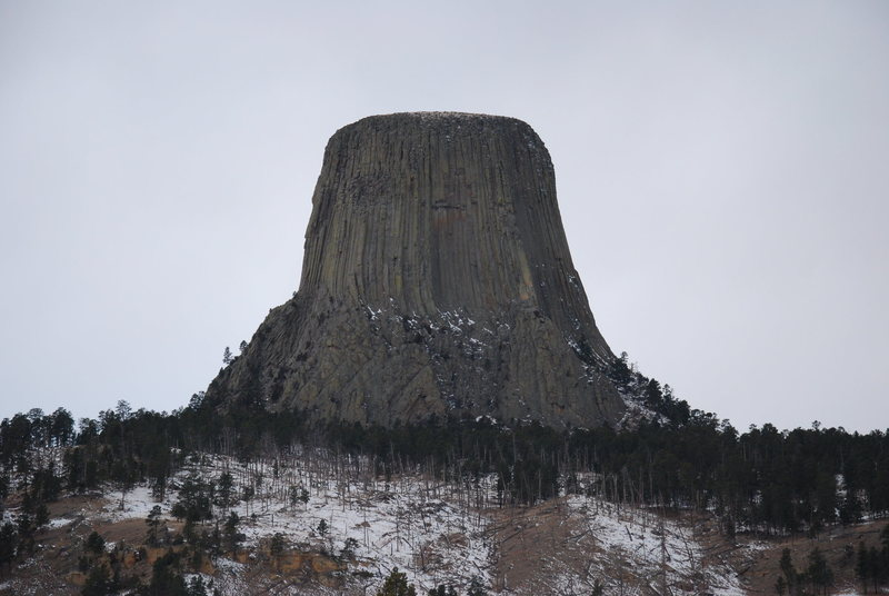 North East Devil's Tower Dec.2012