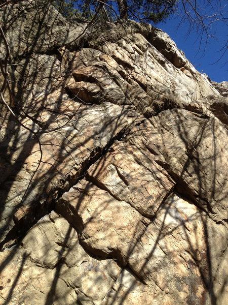 Rock Climbing Photo: Sustained.
