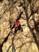 Rock Climbing Photo: Crushing it.