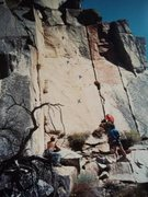 Rock Climbing Photo: Ron Andersons photo of the Cracker Cliff