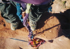 "Rock Climbing Photo: Summit of the ""Gothic Nightmare"" Feb. '9..."