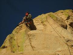 Rock Climbing Photo: alt finish to ewephoria