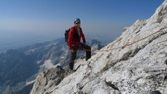 Rock Climbing Photo: Heading to the top of the Grand for the second tim...