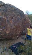 Rock Climbing Photo: The arete is Finn It