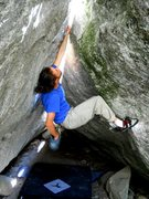 Rock Climbing Photo: The easy hand jams in the middle.