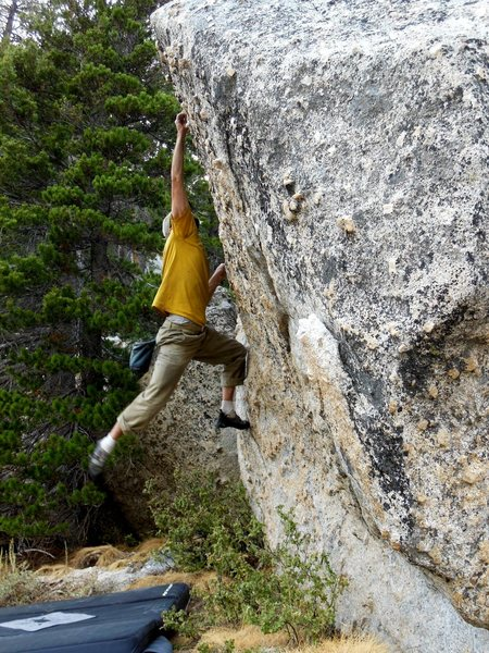 Rock Climbing Photo: The Cross Boulder