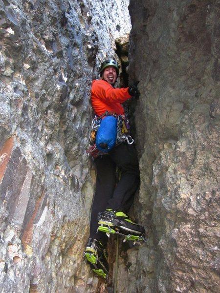 Rock Climbing Photo: Chossaneering fun!