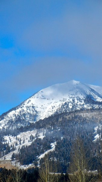 Rock Climbing Photo: Mount Glory on a fine winter day.