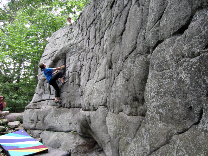 Rock Climbing Photo: Amanda Sonon on the Brain v1 - J-town