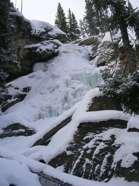 Rock Climbing Photo: Ouzel Falls, 12/27/12.