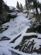 Rock Climbing Photo: Ouzel Falls, 12/27/12.