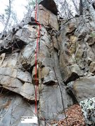 Rock Climbing Photo: Stinger Arete