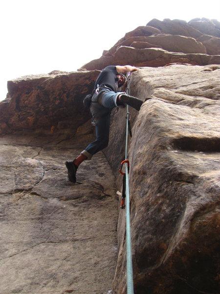 Awsome climb