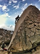 "Rock Climbing Photo: Having fun on the ""Heavenly Path"""