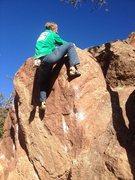 Rock Climbing Photo: Crystal Corner.