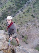 Rock Climbing Photo: Rapping off Razors Edge
