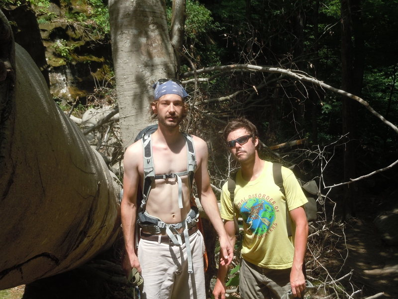 Rock Climbing Photo: Me and Pierce