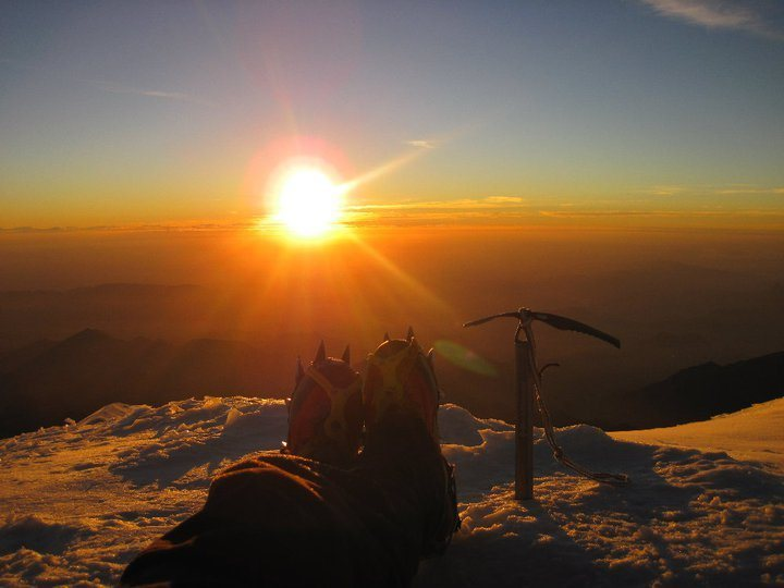 Rock Climbing Photo: Summit of Pico