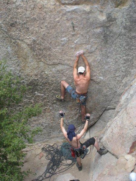 Rock Climbing Photo: Spot on!