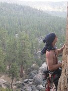 Rock Climbing Photo: I'd like to think it was more of a stalemate than ...