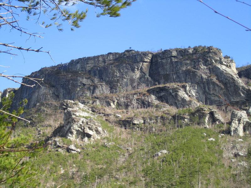 Rock Climbing Photo: The NC Wall