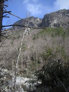 Rock Climbing Photo: The Amphitheater and the Linville River