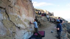 Rock Climbing Photo: A busy day at The Beehive Wall