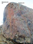 Rock Climbing Photo: Borson's Block Topo