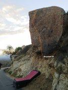 Rock Climbing Photo: Beryllium Topo