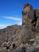 Rock Climbing Photo: TR on Square One
