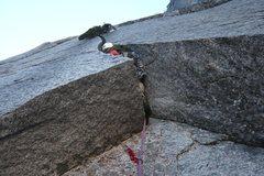Rock Climbing Photo: The Seeliger Slot. Pitch three.