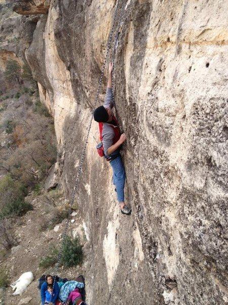 Rock Climbing Photo: Violin Wall