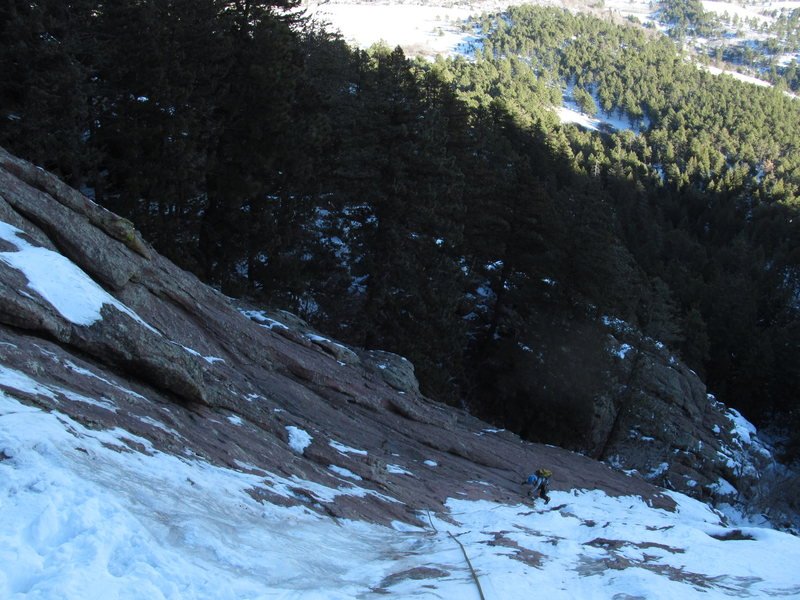Rock Climbing Photo: Silk Road P1.